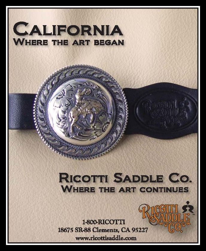 Ricotti Saddle Co  - Ricotti Saddle Company